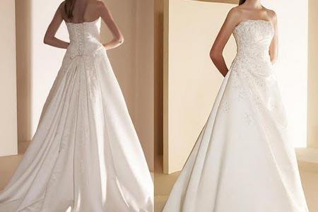 """这个面料的婚纱适合秋季结婚,让你美丽但不""""冻""""人"""