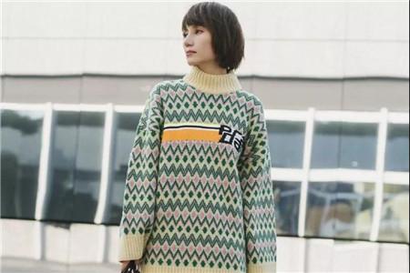 格纹毛衣有多漂亮,看杨幂的时尚穿搭就知道
