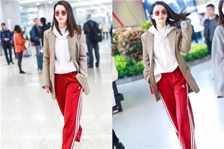 亮丽红色如何穿出时尚感,女生学会这样搭配