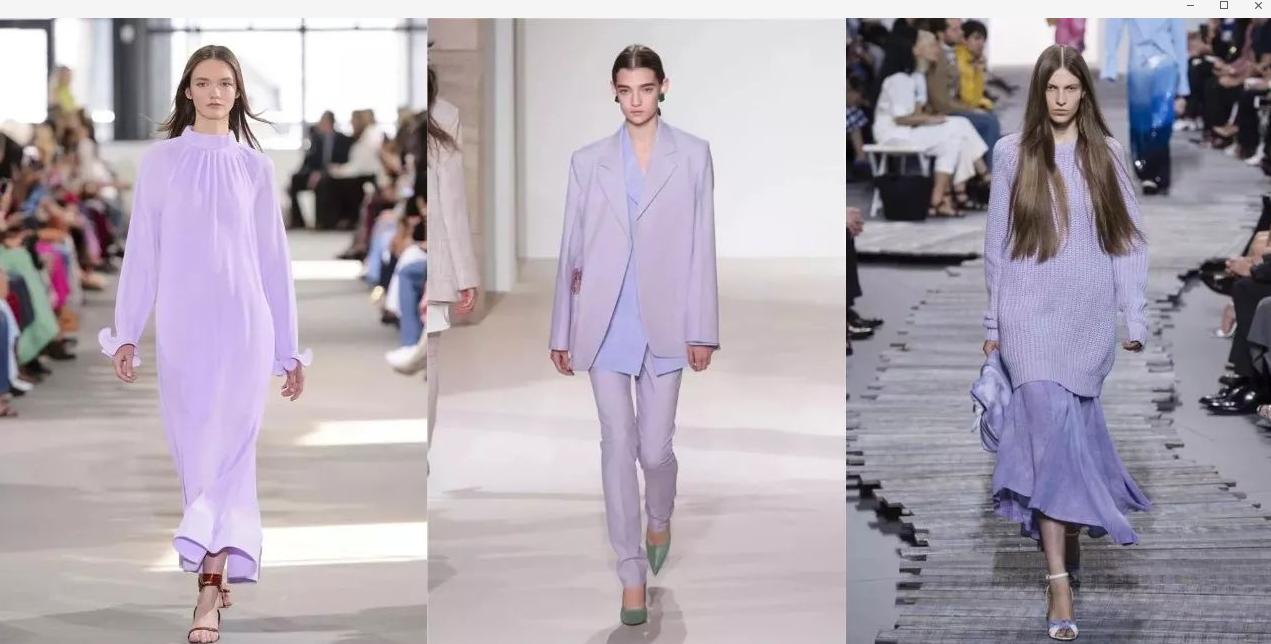 2018两大流行色,紫外光色和粉紫薰衣草色